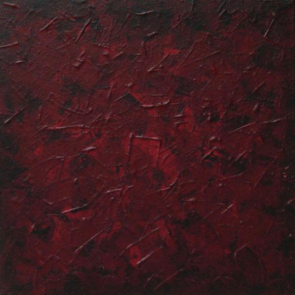 Dark red paint