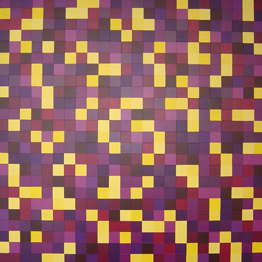 Abstract Yellow Paintings Painting Purple And Yellow