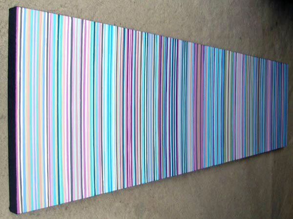 How Wide To Paint Stripes On A Wall