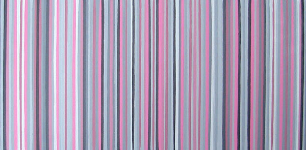 Pink And Grey Shades Modern Stripes Painting