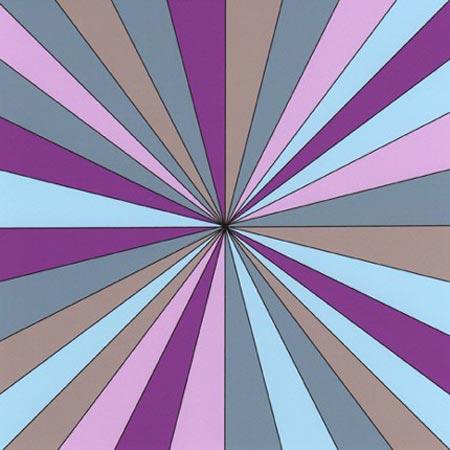 "... Magenta Pinwheel Giclee Print 6.5"" by 6.5"" Available at Etsy $12 USD"