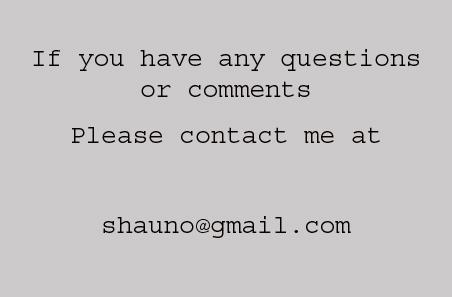 Contact shauno