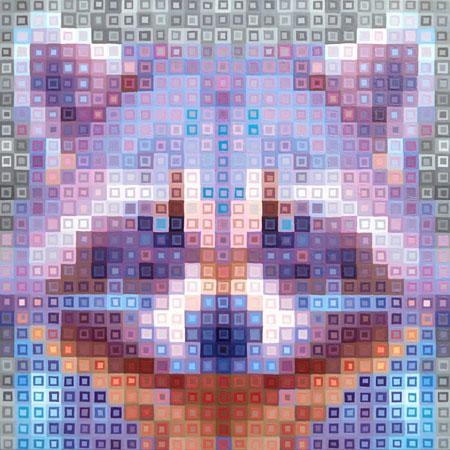 Raccoon Pixel Art