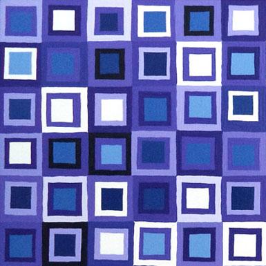 Purple Squares Painting