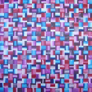 Red, Blue and Purple Squares