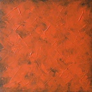 Orange Wash Art