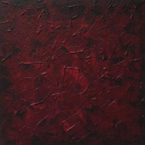 Dark Red Wash Painting