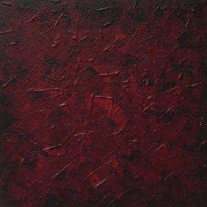 Dark Red Wash Painting