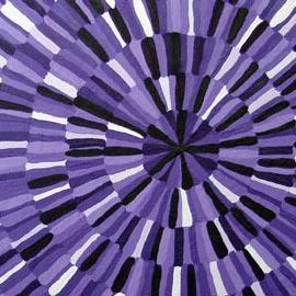 Purple Optical Painting