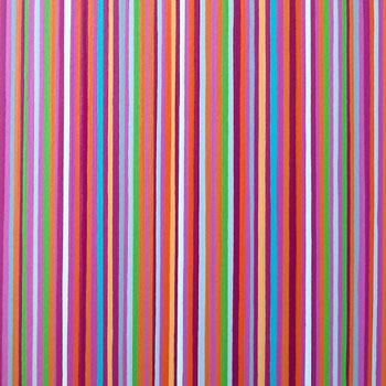 Magenta And Orange Stripes