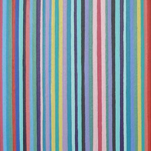 Orange, Green, Aqua Stripes Painting
