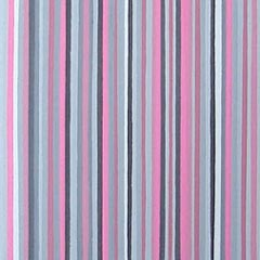 Pink and Grey Stripes Painting