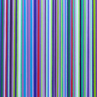 Large Purple And Green Stripes