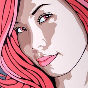 Mio Pink Portrait
